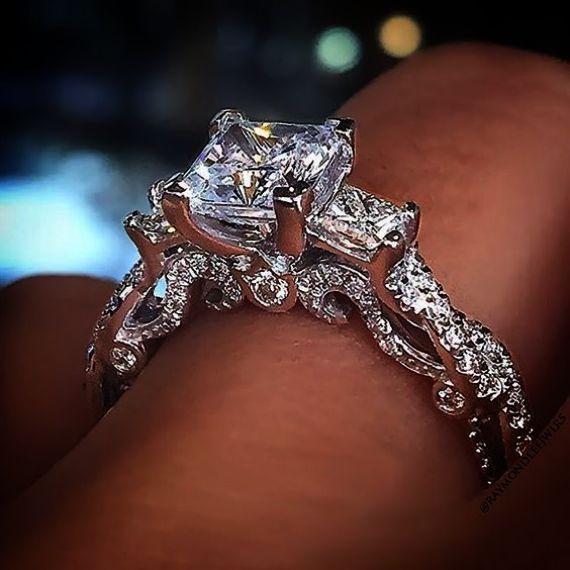 Diamond Engagement Rings Art Deco Vintage Austin Tx