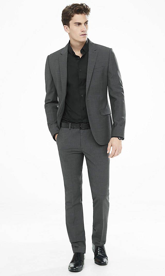 Black Pant Suit Men