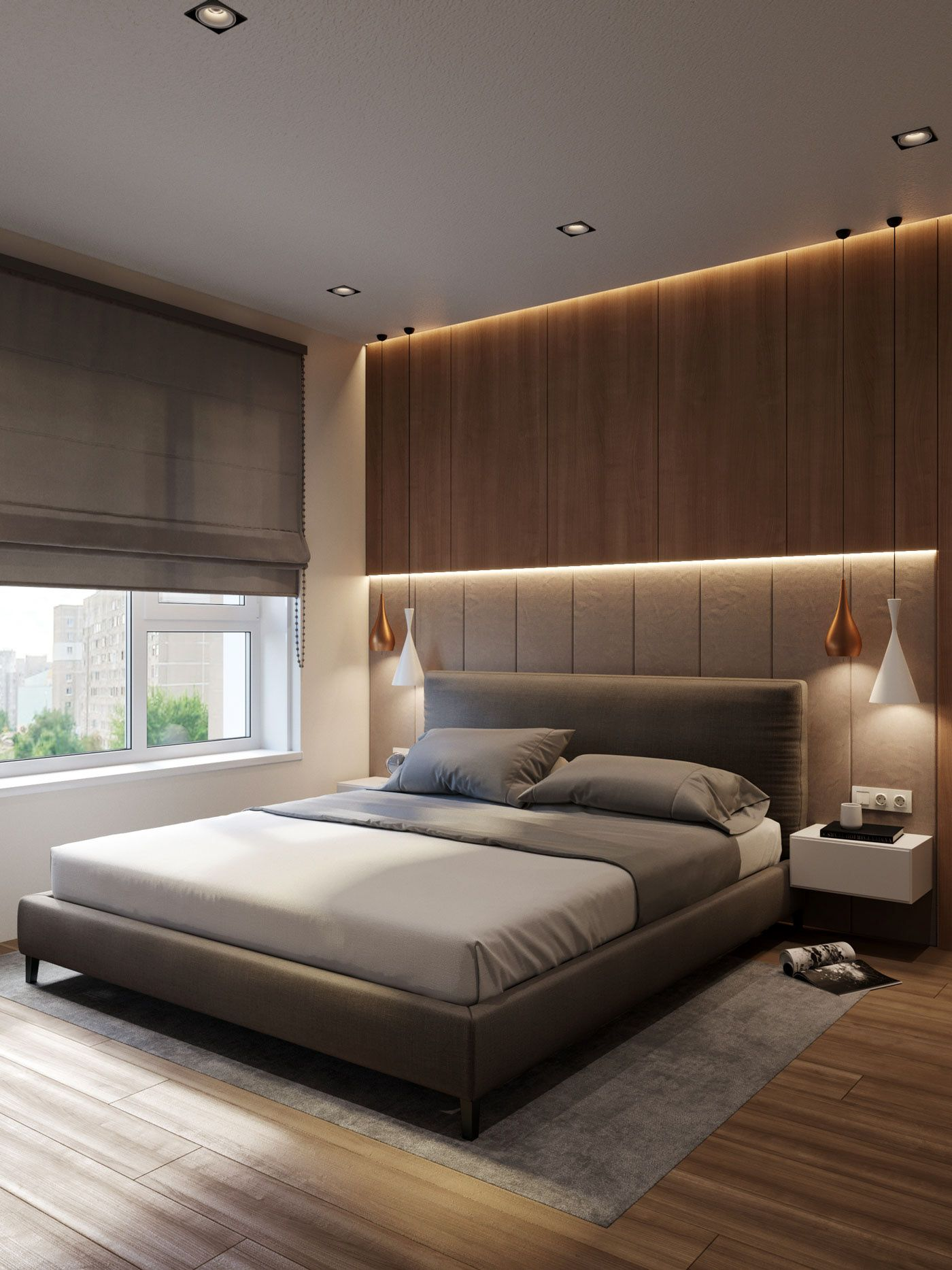 Wood And Stone On Behance Bed Design Modern Bedroom Bed Design