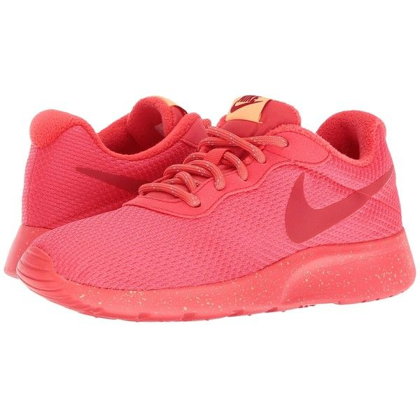 Fashionable Style Womens Athletic Shoes - Nike Tanjun Se Ember Glow/Gym Red/Peach Cream/Ember Glow