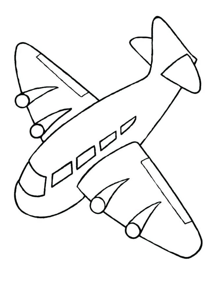 Airplane Colouring Pages To Print 1. Everybody Must Recognized This Kind Of  Air … Airplane Coloring Pages, Kids Printable Coloring Pages, Preschool Coloring  Pages