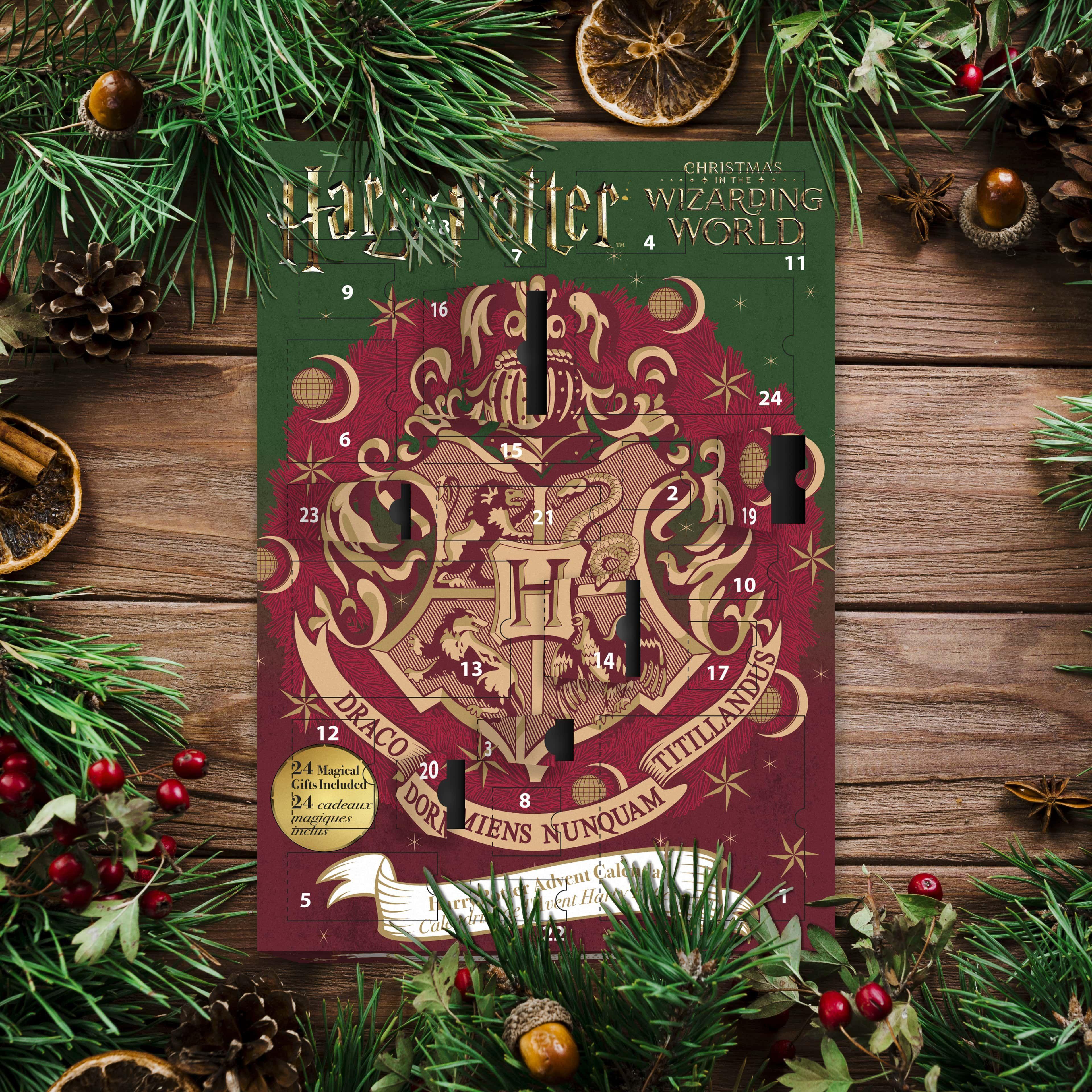 Harry Potter Advent Calendar 2019 Harry Potter Advent Calendar Harry Potter Christmas Christmas Colors
