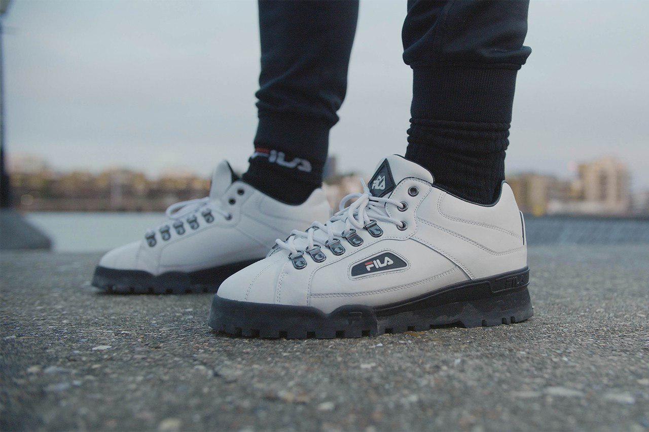 FILA Trailblazer - White   Shoes, Men