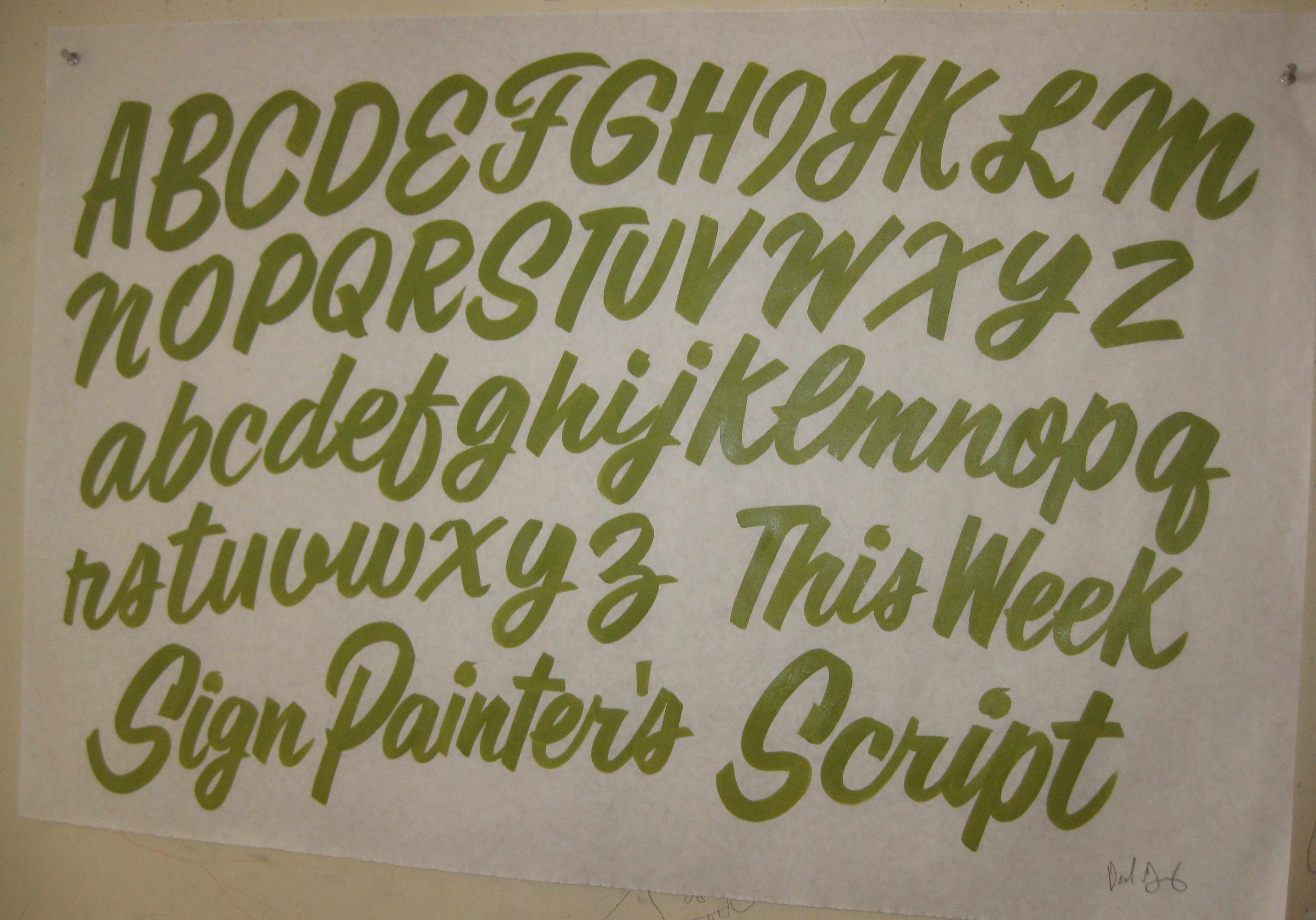 Pin By Malin Roghelia On Graffiti Brush Script Lettering Lettering Alphabet Sign Painting Lettering
