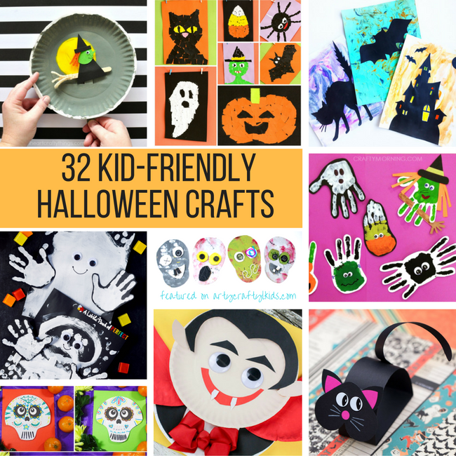 Creative Fall Crafts For Kids Halloween Crafts Kid Friendly Halloween Crafts Kindergarten Halloween Crafts