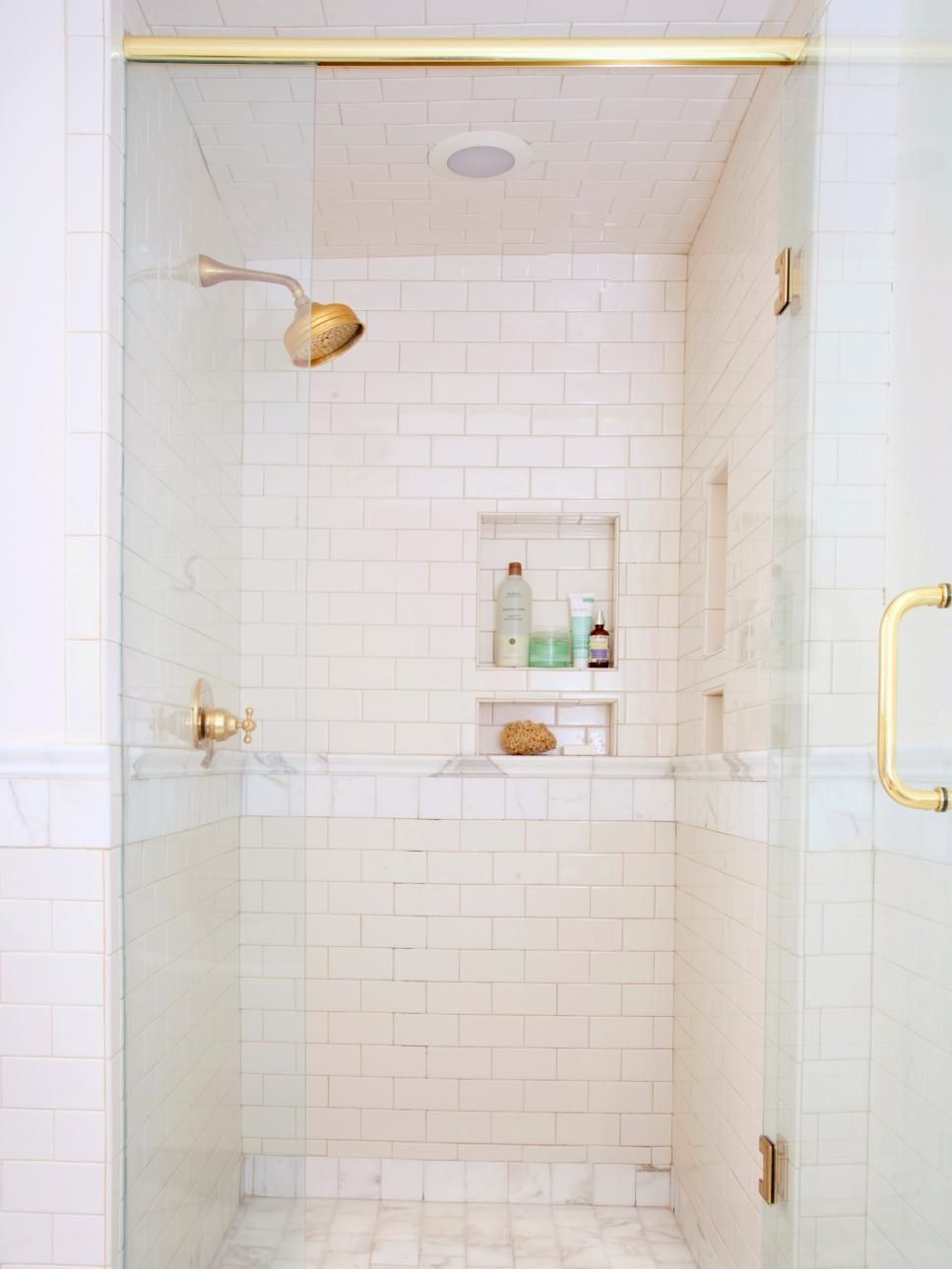 Browse pictures of showers packed with luxury features from rain