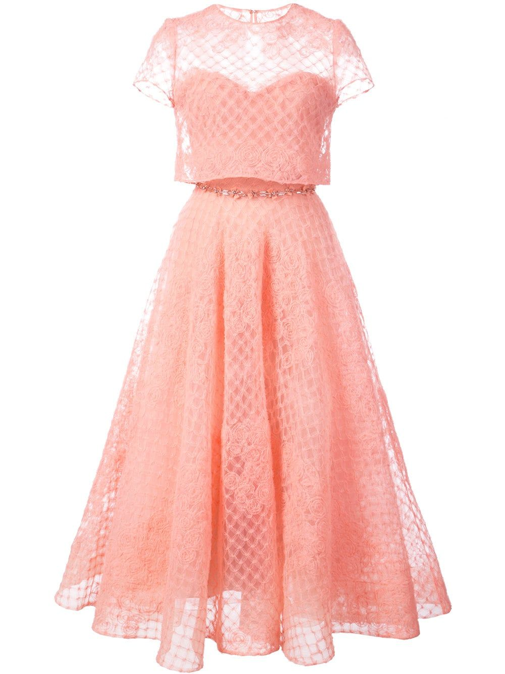 Click on the link to see marchesa notte tulle layered pink dress