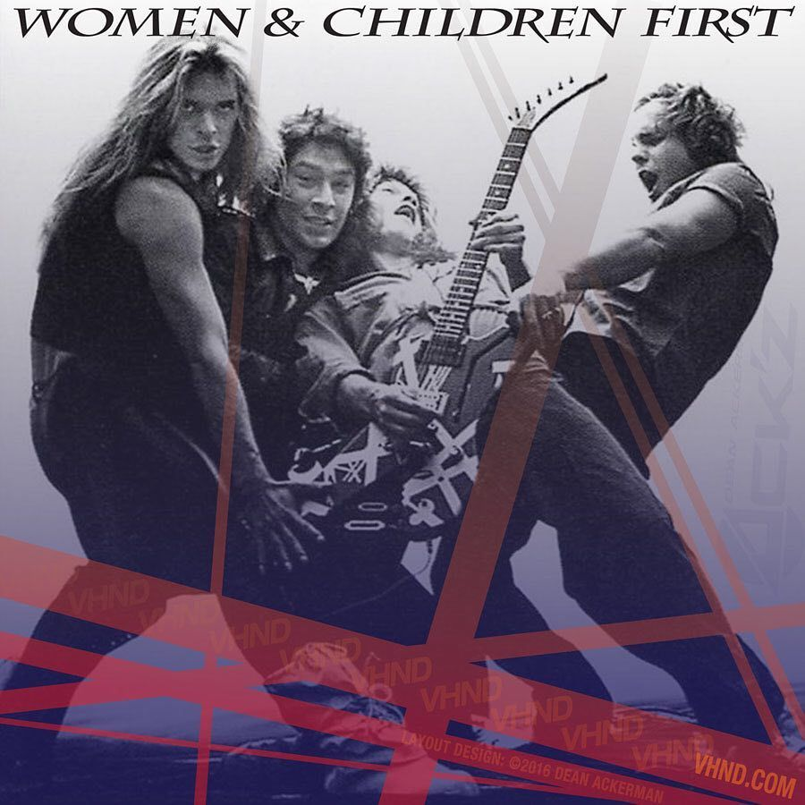 Van Halen Store On Instagram Van Halen S Women And Children First Was Released On This Day In 1980 What Are Your Favorite Song Van Halen Van Halen 1 Halen