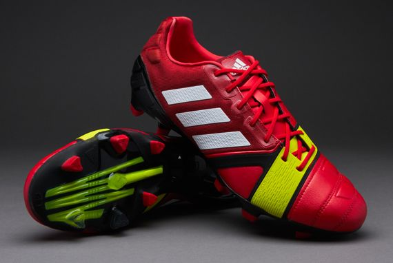 new concept 5c12c 1900b adidas-Soccer-Shoes-adidas-Nitrocharge-10-TRX-FG-Firm-Ground-Soccer-Cleats- Vivid-RedRunning-WhiteElectricity  PDSmostwanted US SIZE 9