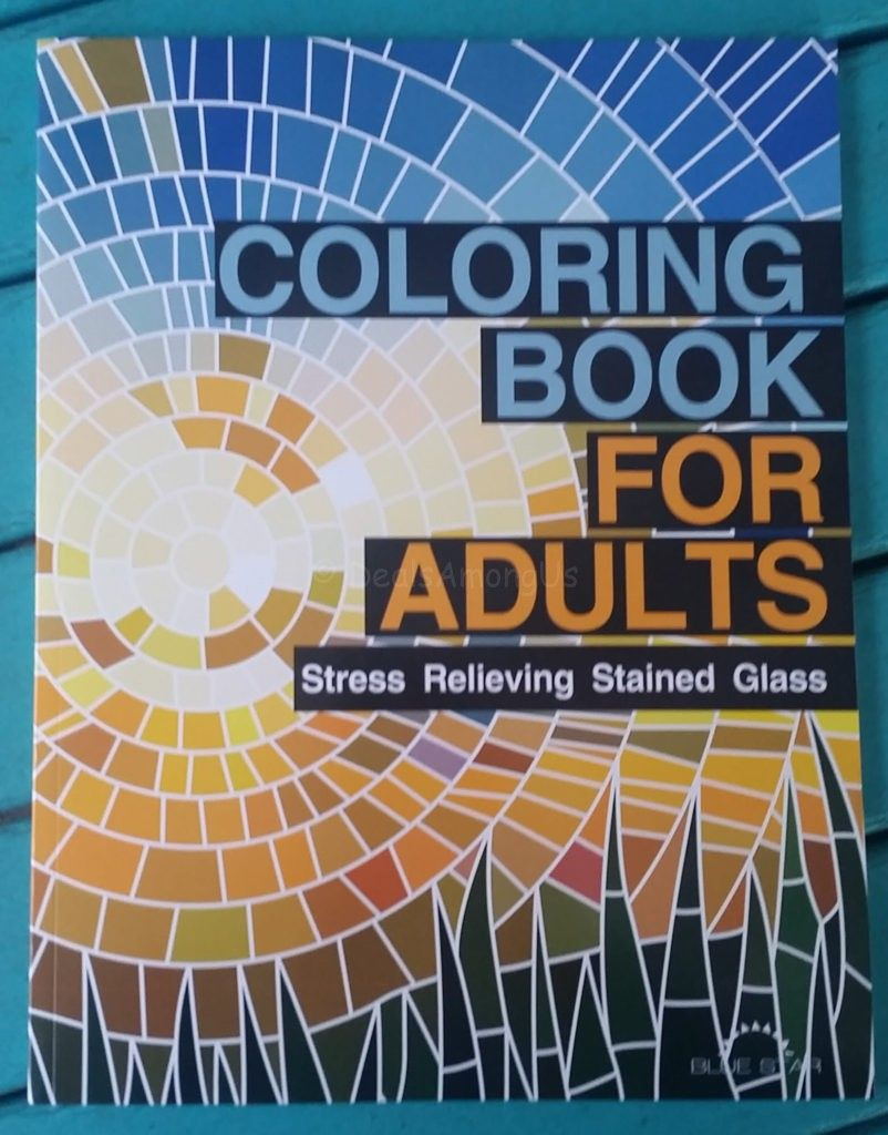 Coloring Book For Adults Stained Glass Patterns Review