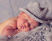 baby crochet fedora