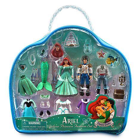 Coffret luxe ariel la petite sirene princesse prince - Petite princesse disney ...