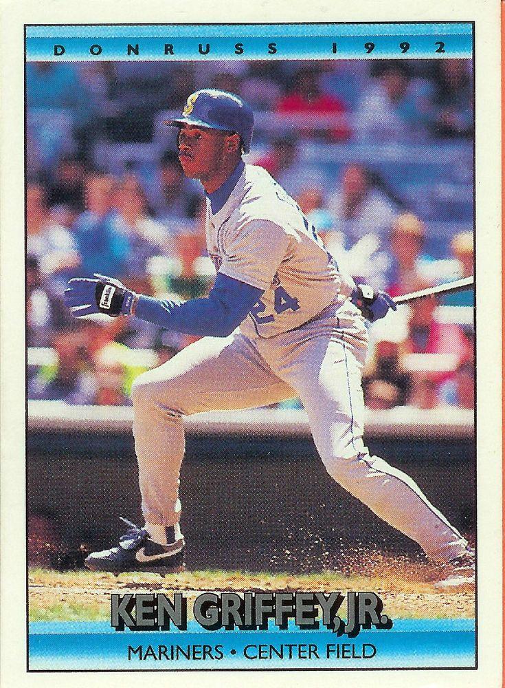 1992 donruss 165 ken griffey seattle mariners baseball