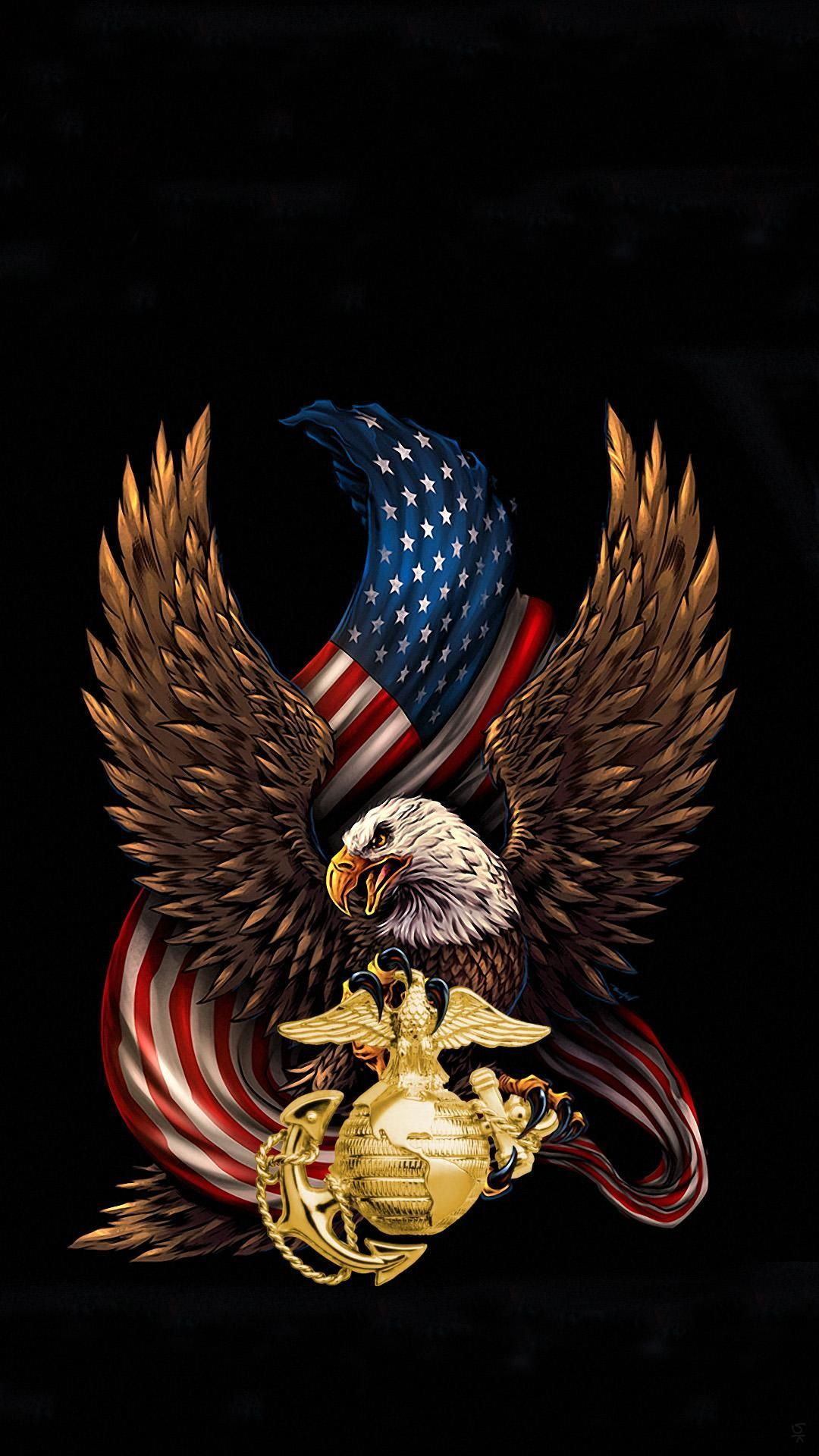Eagle Iphone Wallpaper Usmc Wallpaper Navy Seal Wallpaper Anime Wallpaper Iphone