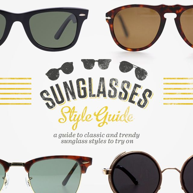 7b81529af47 Sunglasses Style Guide  9 Best Sunglasses Trends and Classics for Men