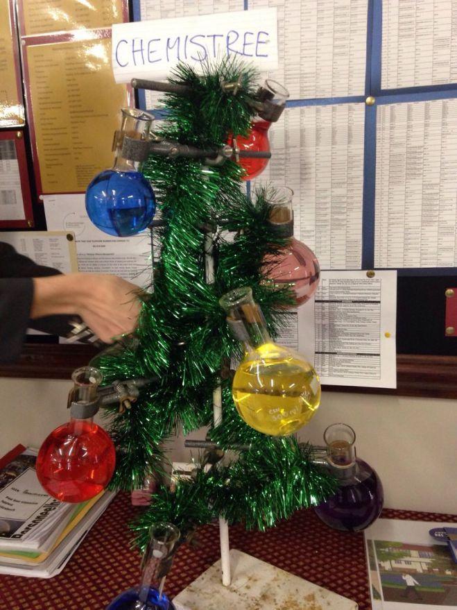 Christmas ChemisTree Let\u0027s Get Topical, Teachers Pinterest Diy