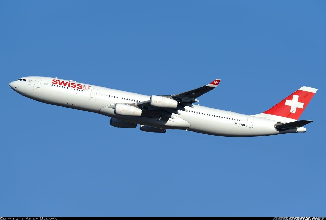 Airbus a340 313 swiss international air lines aviation photo - Airbus A340 313 Swiss International Air Lines Aviation Photo 2751987 Airliners