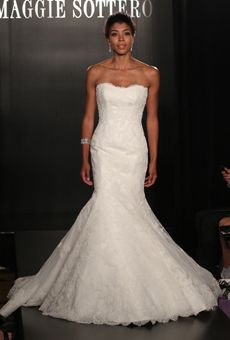Maggie Sottero Spring 2013 Fitted gown