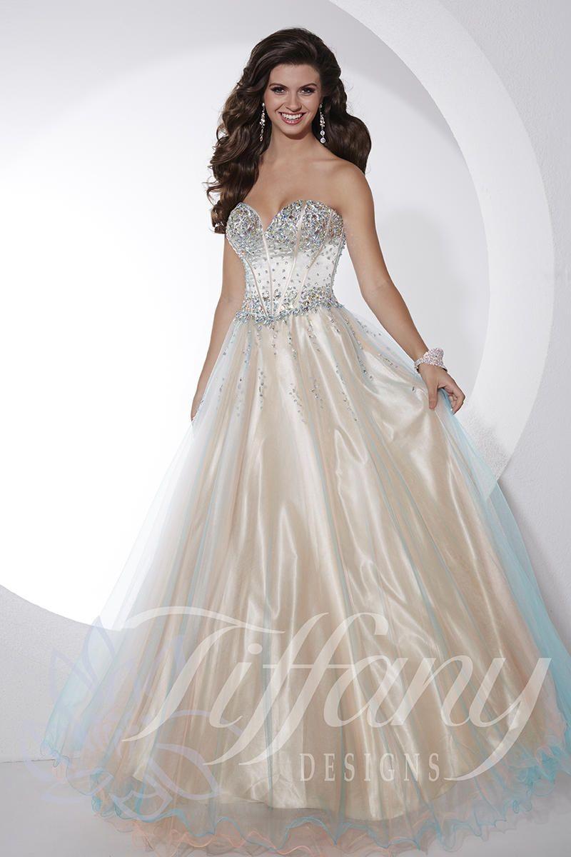 Tiffany Designs Dress 16077   Terry Costa Dallas   PROM DRESSES ...