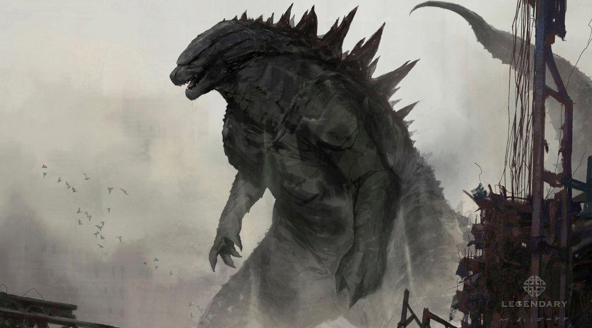 xombiedirge Godzilla Concept Art by Matt Allsopp