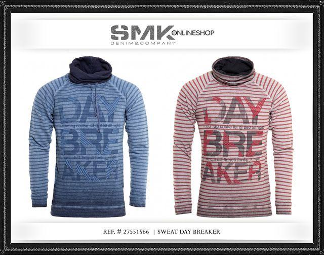 SMK DENIM&Co.   SWEAT DAY BREAKER