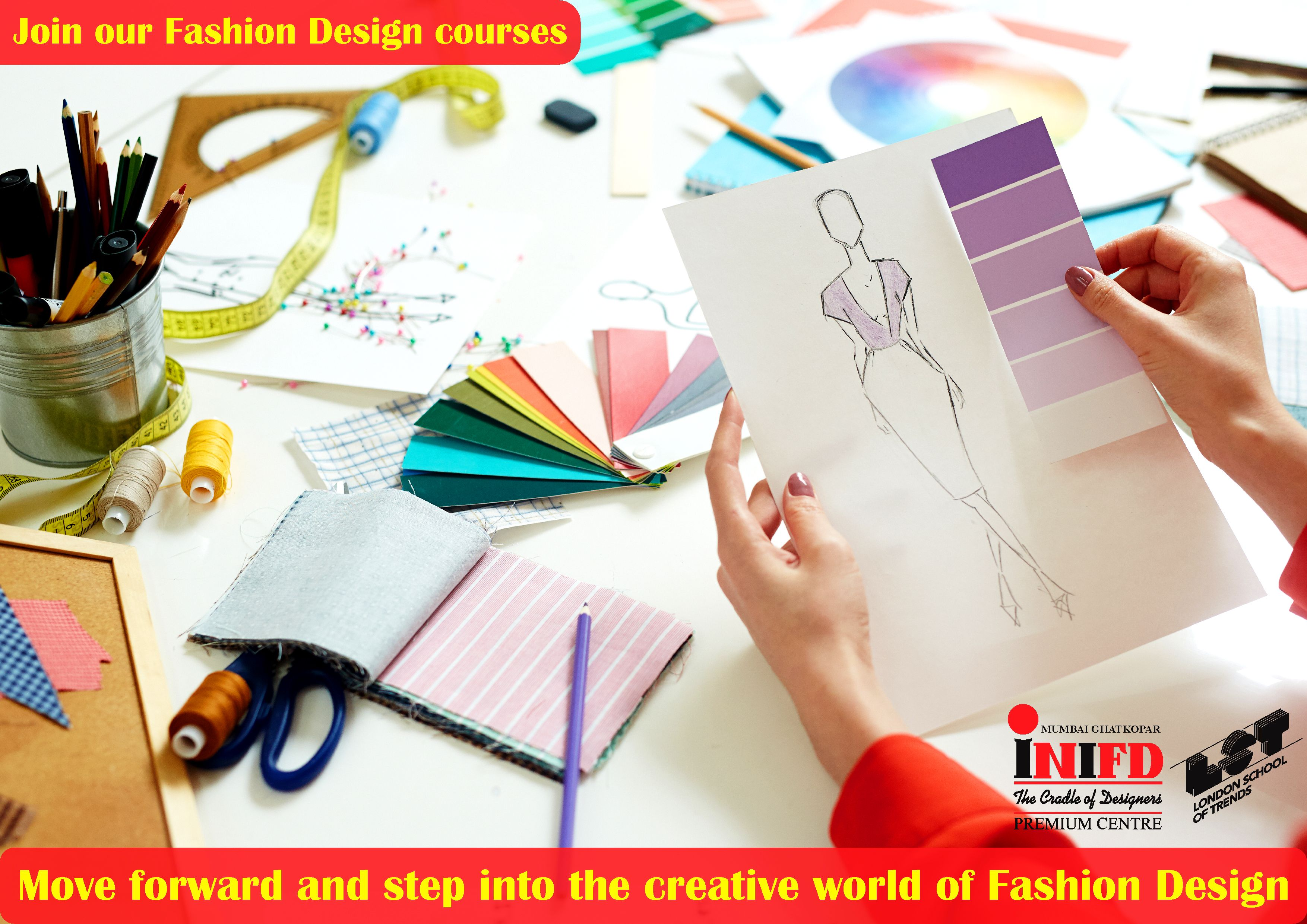 Move Forward And Step Into The Creative World Of Fashion Design Explore Your Career Option In 2020 Fashion Designing Colleges Fashion Design Fashion Designing Course