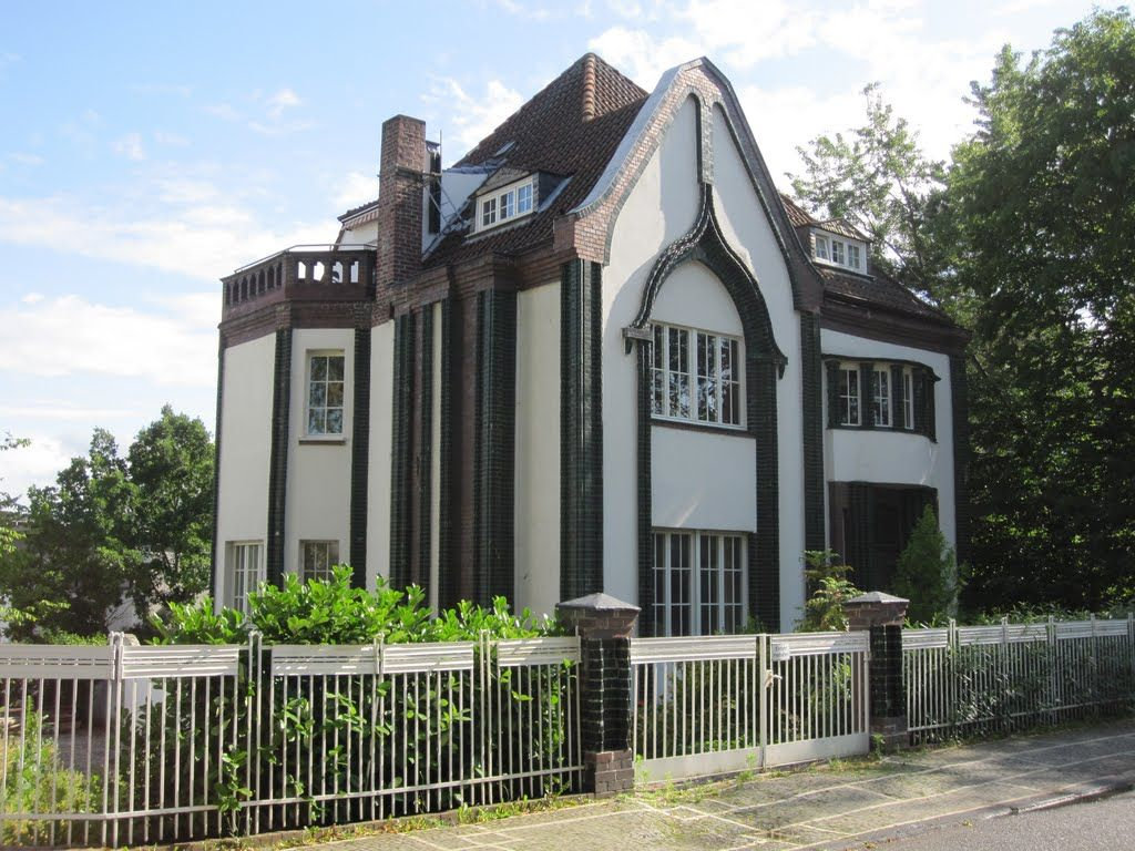 Casa behrens darmstadt alemania jugendstil pinterest for Behrens house