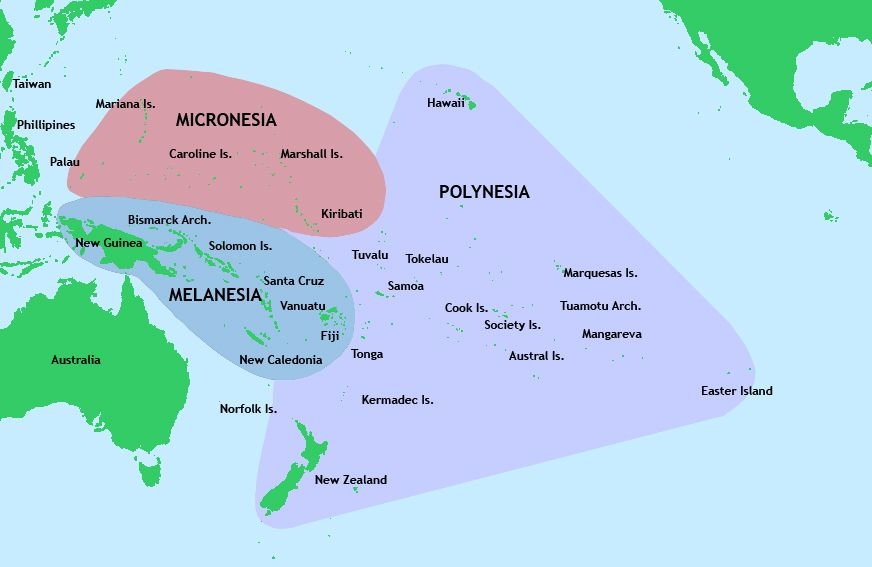 Polynesia Micronesia Melanesia Pack Up Explore Pinterest - Micronesia interactive map