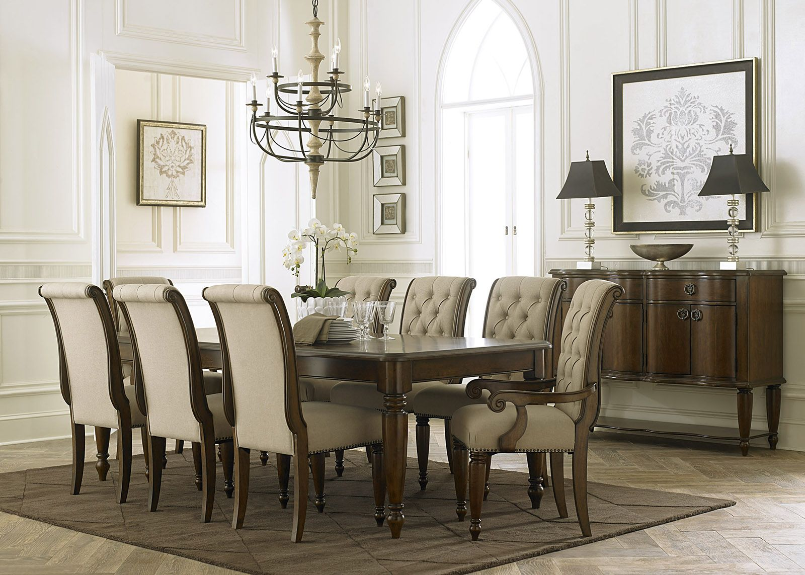 Shop For The Liberty Furniture Cotswold 9 Piece Rectangular Dining Table Set At Zaks Fine