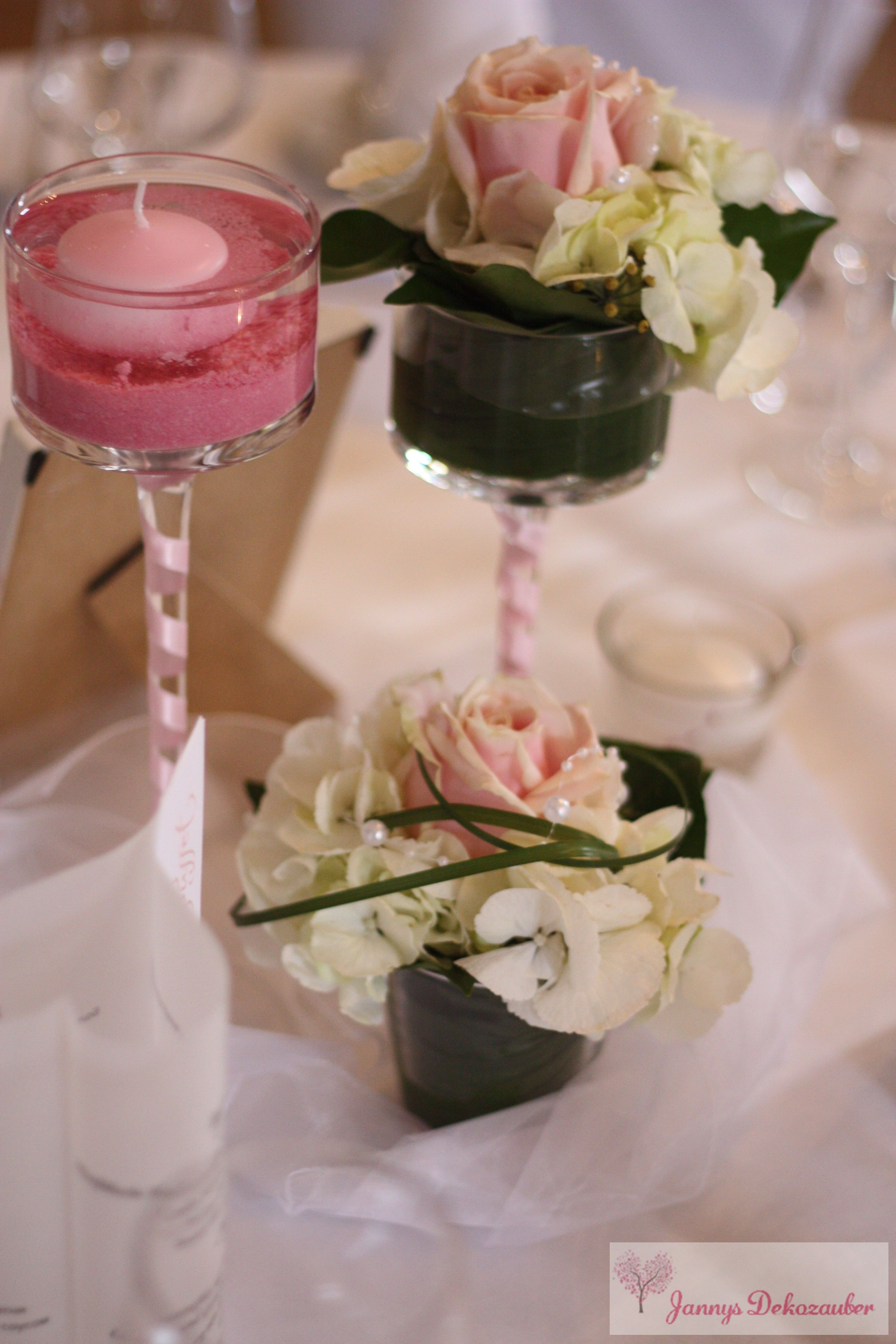 Hochzeitsdeko Tischdeko Hochzeit Individuell Rosen Rosa Sand