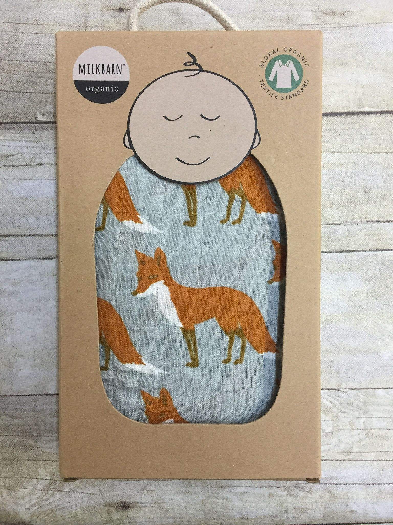 "Milk Barn swaddling blankets are made of GO TS certified cotton and are incredibly soft, light and breathable. Our blankets are generously sized 47"" x 47"". Not only are they ideal for swaddling, they"