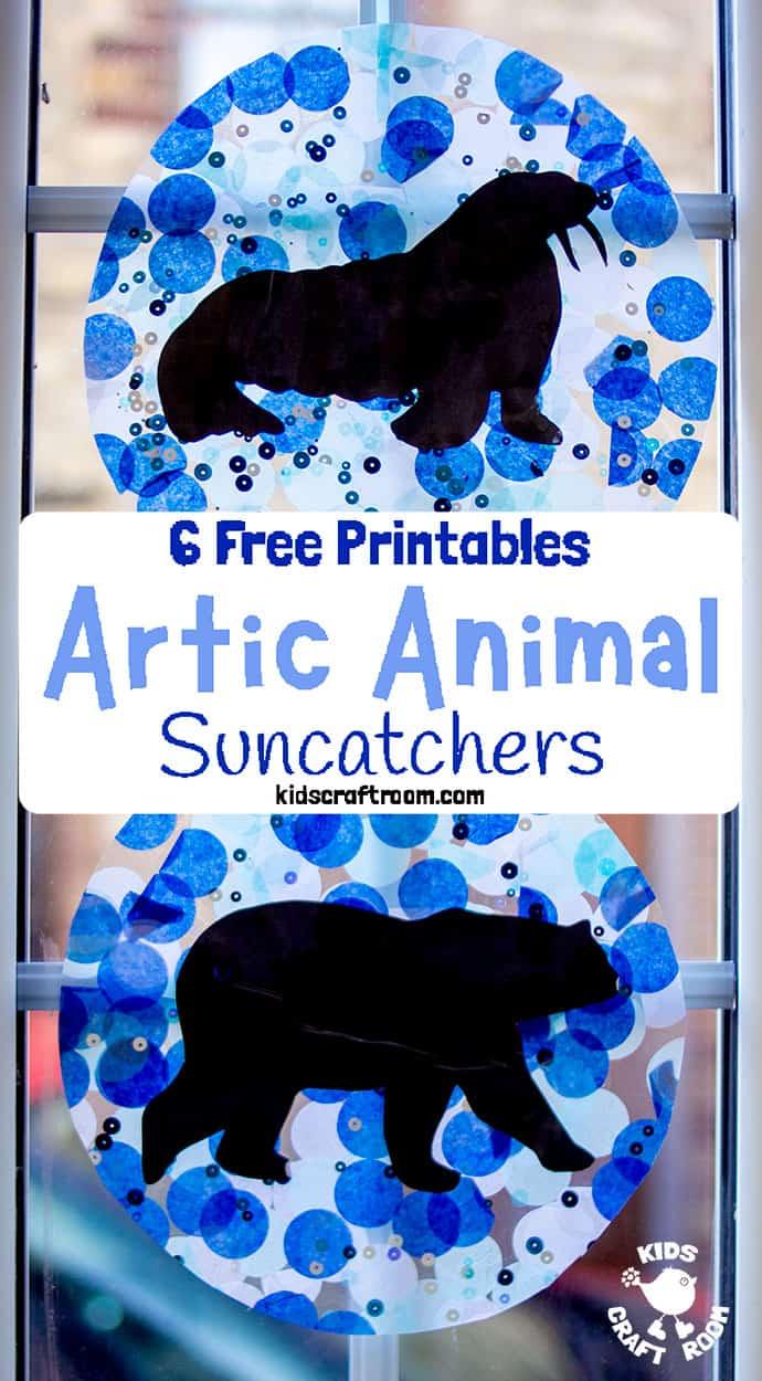 Photo of Arctic Animal Suncatcher Craft