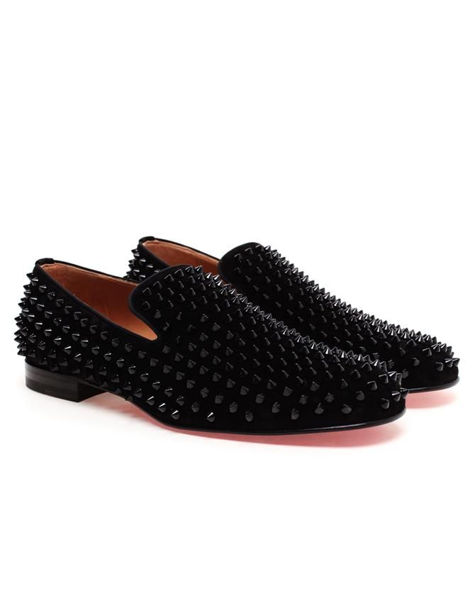 6df81c9e0d6 CHRISTIAN LOUBOUTIN 'Rollerboys' Spiked Suede Loafers £825 | Men's ...