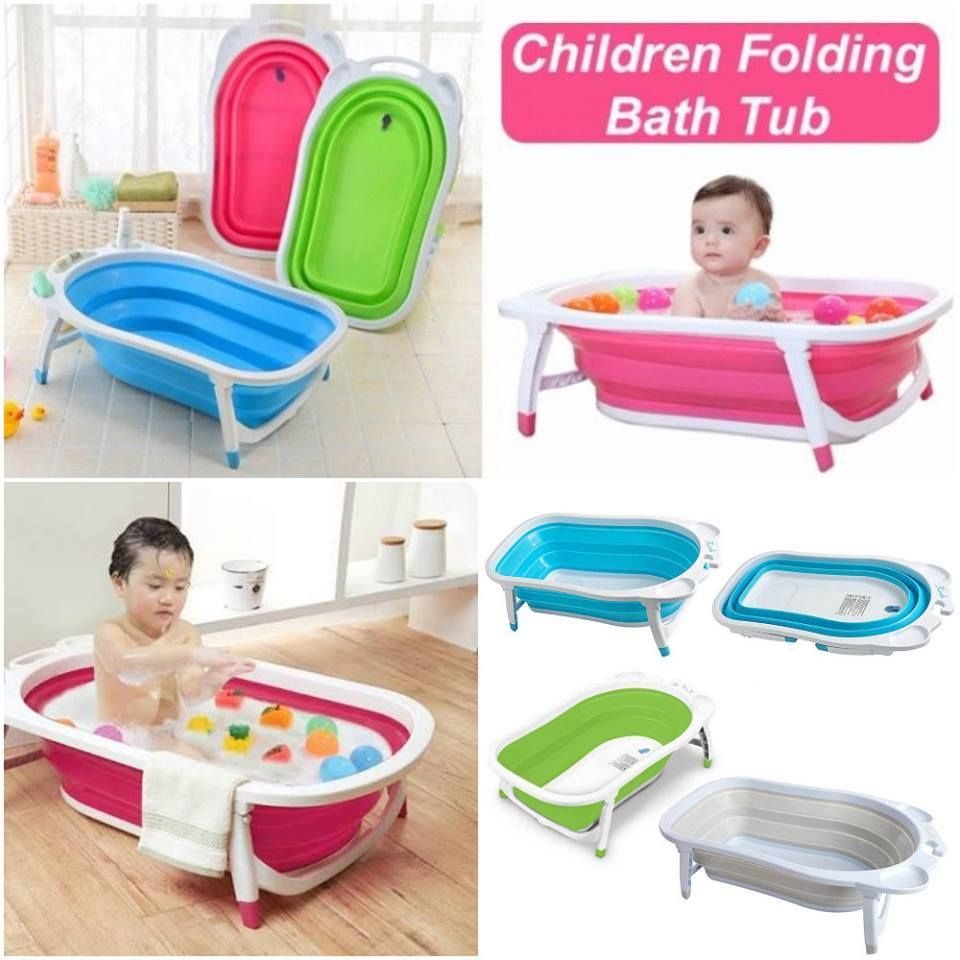 Give your Kids New Bathing Experience with Folding Bath Tub ...