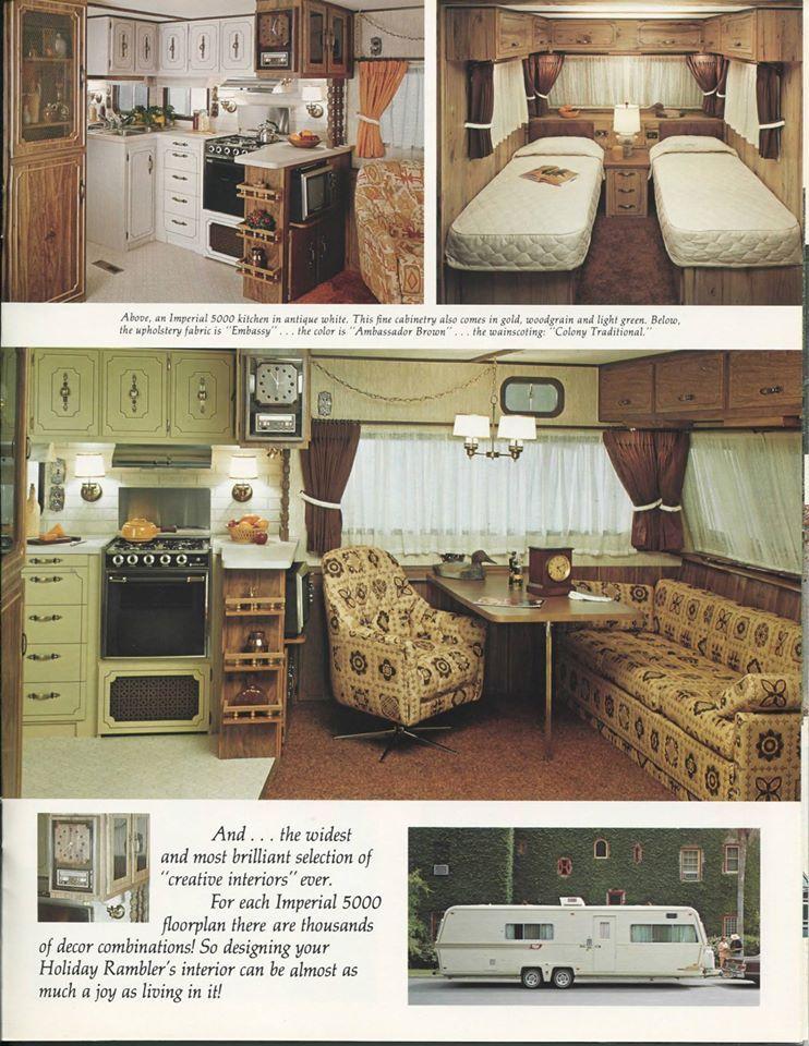 1977 Holiday Rambler Imperial 5000 Holiday Rambler Vintage