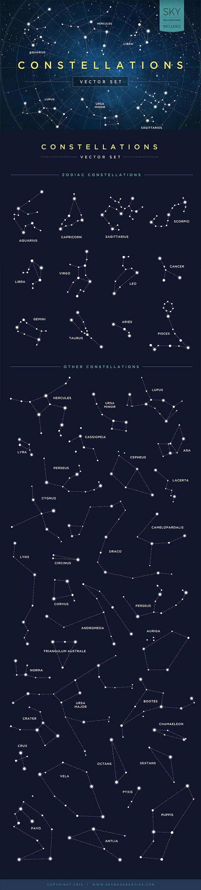 Constellations Vector Set
