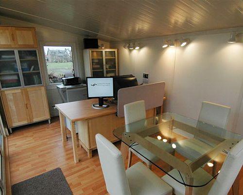 Garden Office Interior 6m X 4 5m 21 020 Garden Office Garden