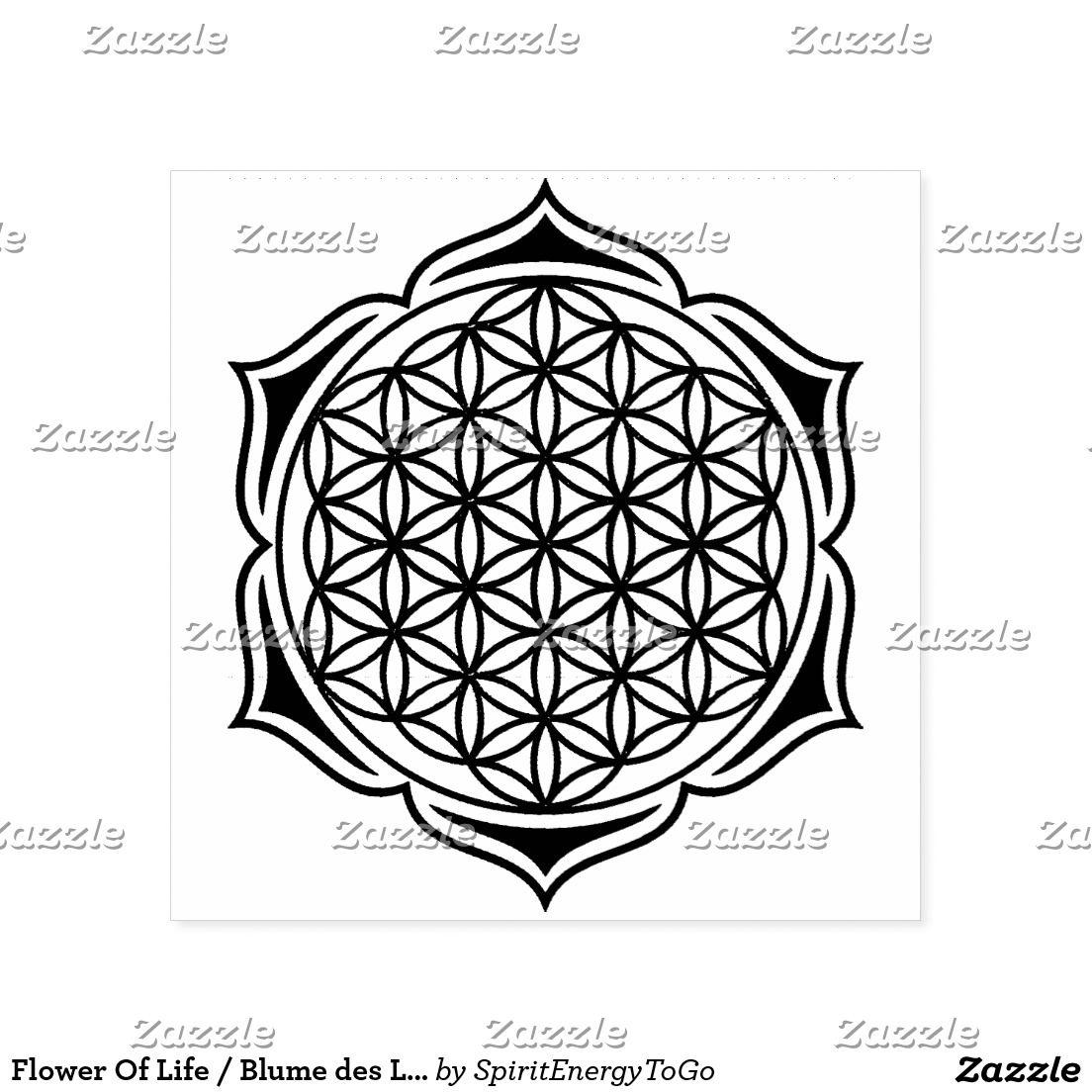Flower Of Life / Blume des Lebens - Lotus II