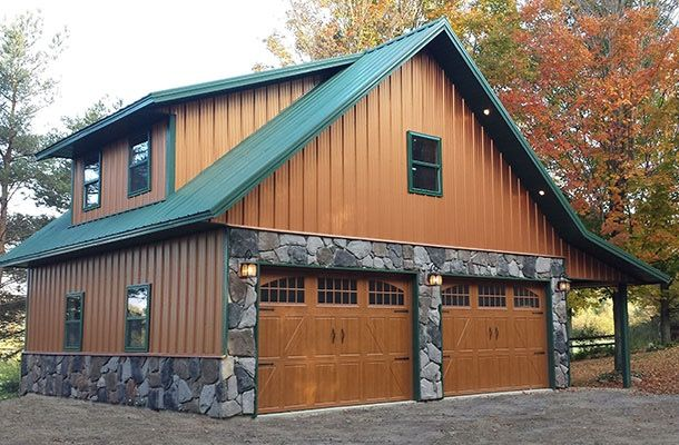 Garage Apartment | Metal building homes, Metal buildings ...