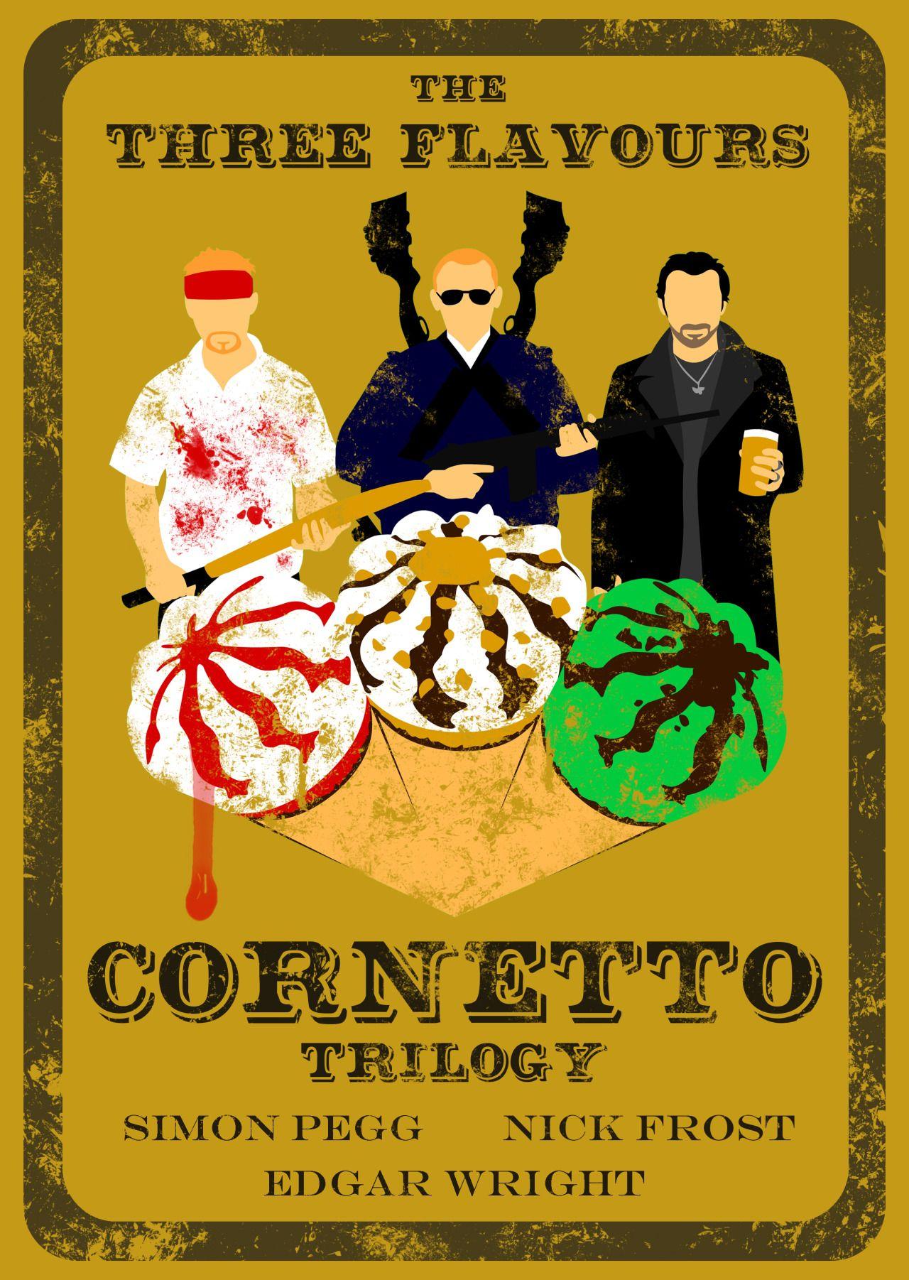 The Cornetto Trilogy The World S End Photo Trilogy Simon Pegg Film Music Books