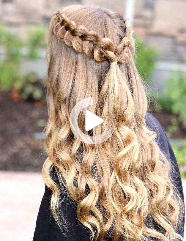 27 Cute and Easy Long Hairstyles for School in 2020   Hair ...