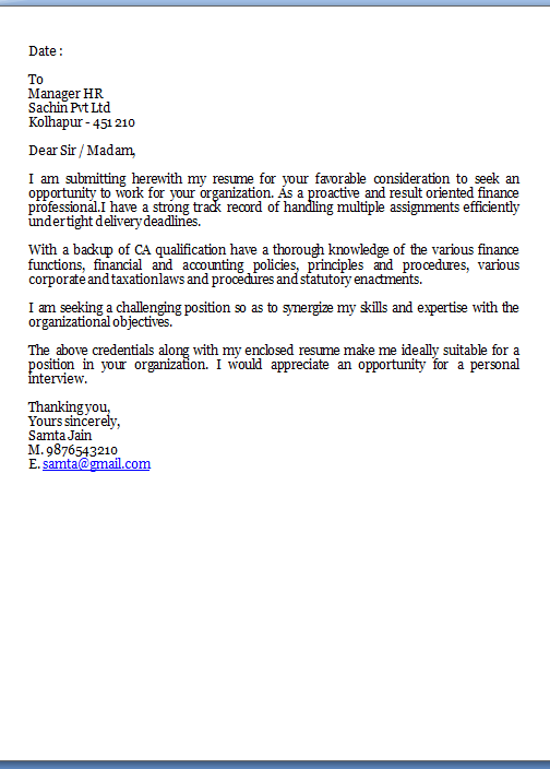 great cover letter examples Sample Template Example ...
