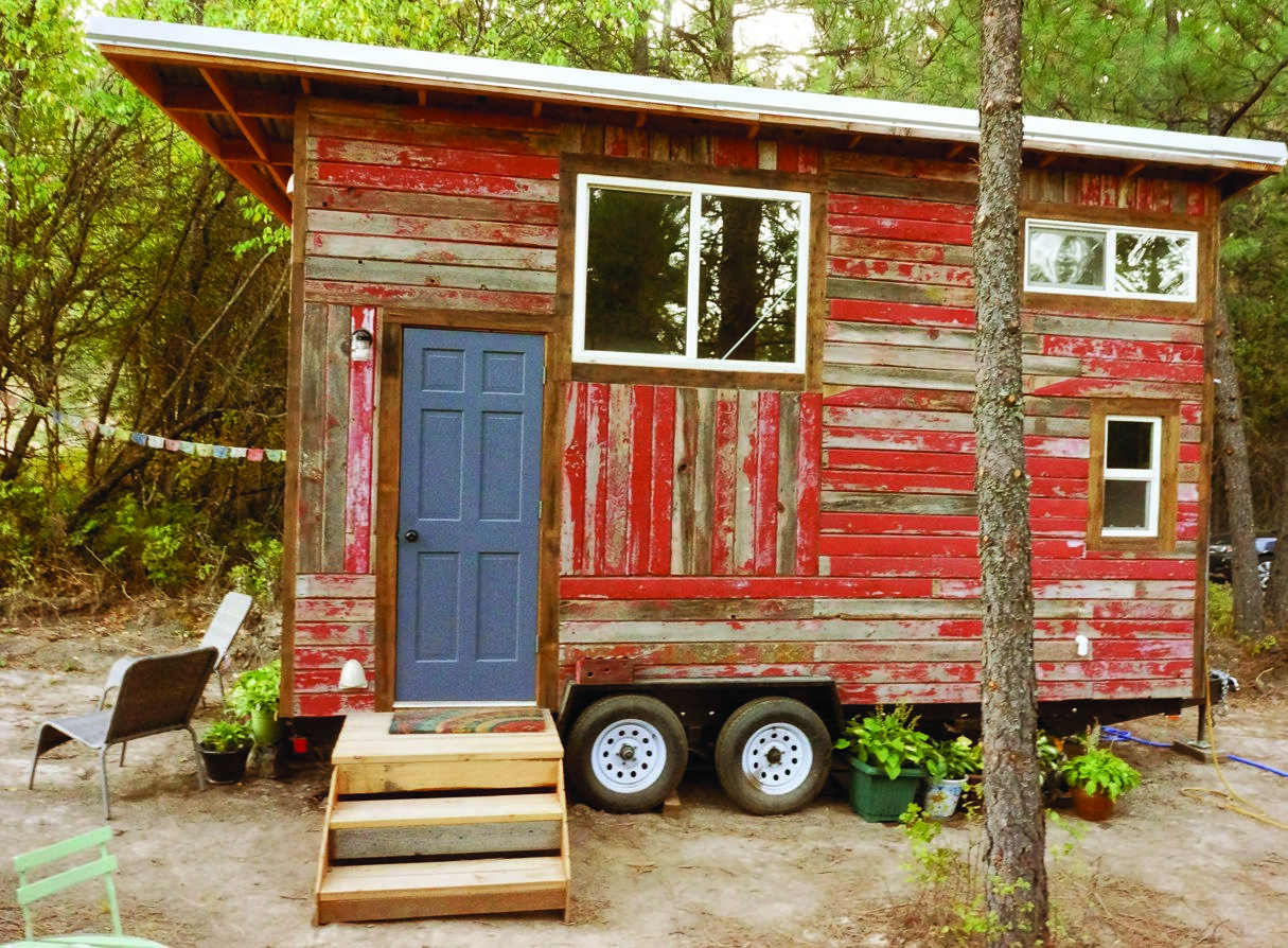 9 Tiny Houses Made From Recycled Materials Recycled