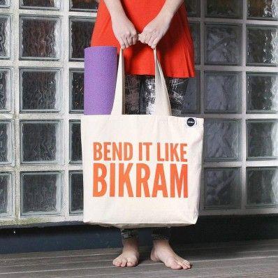 Bend it like Bikram Tote
