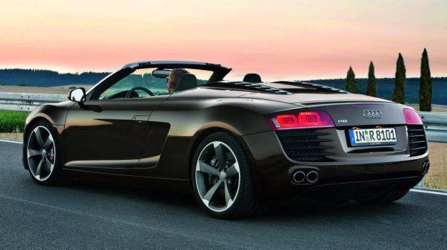 Audi R8 spyder Christian Greys car   shades of grey