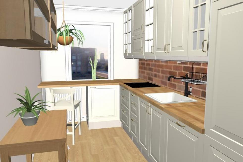 mała prostokątna kuchnia  Szukaj w Google  Home   -> Mala Kuchnia W Bloku Zdjecia