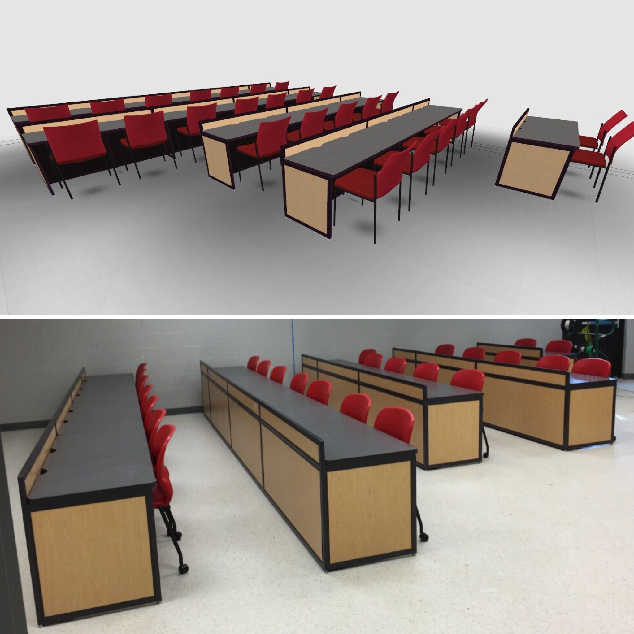 puter Lab Furniture Customized for Any Space by