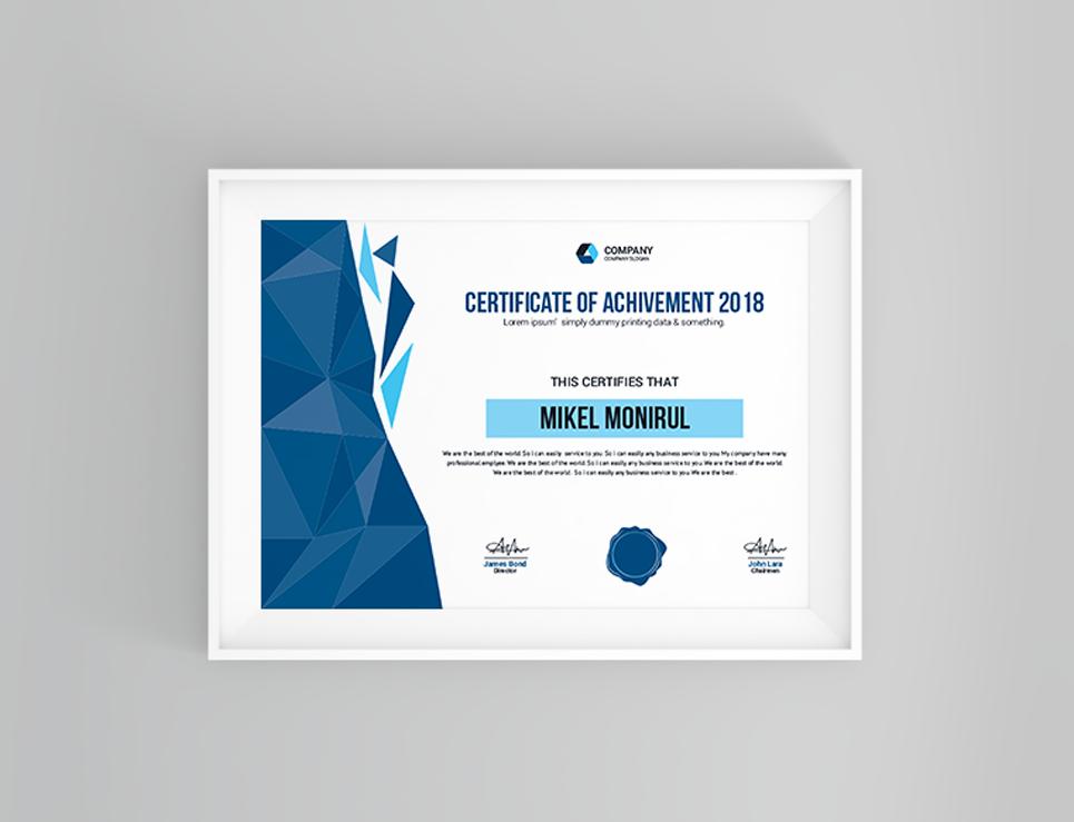 Metal Group Certificate Template Web Template Ideas Pinterest