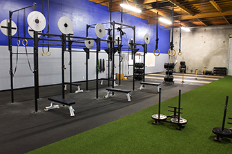 Sleds On Turf With Images Gym Design Gym Interior Warehouse Gym
