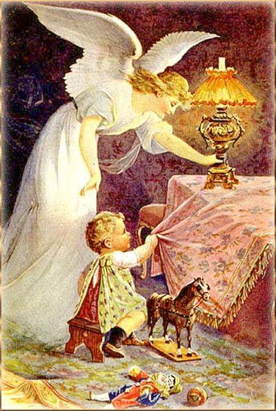 """Живопись """"Ангел-Хранитель и Дети"""".. Обсуждение на ..."""